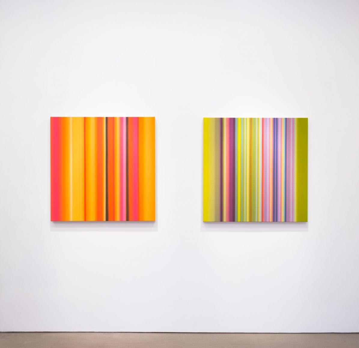 Tim Bavington,Tone Poems, (installation view)