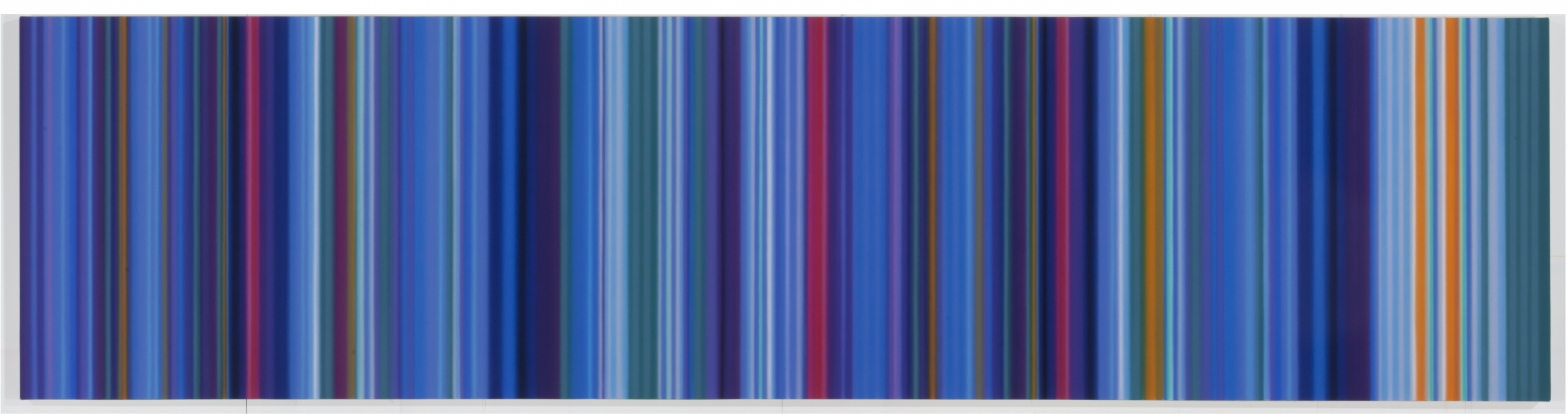 Almost Blue, 2011, Synthetic polymer on canvas