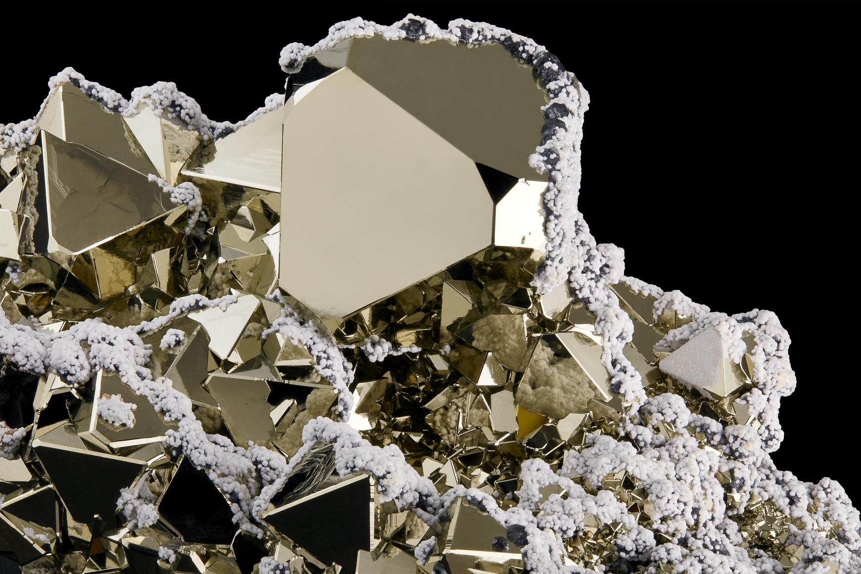 Contrast Exhibition Pyrite Detail