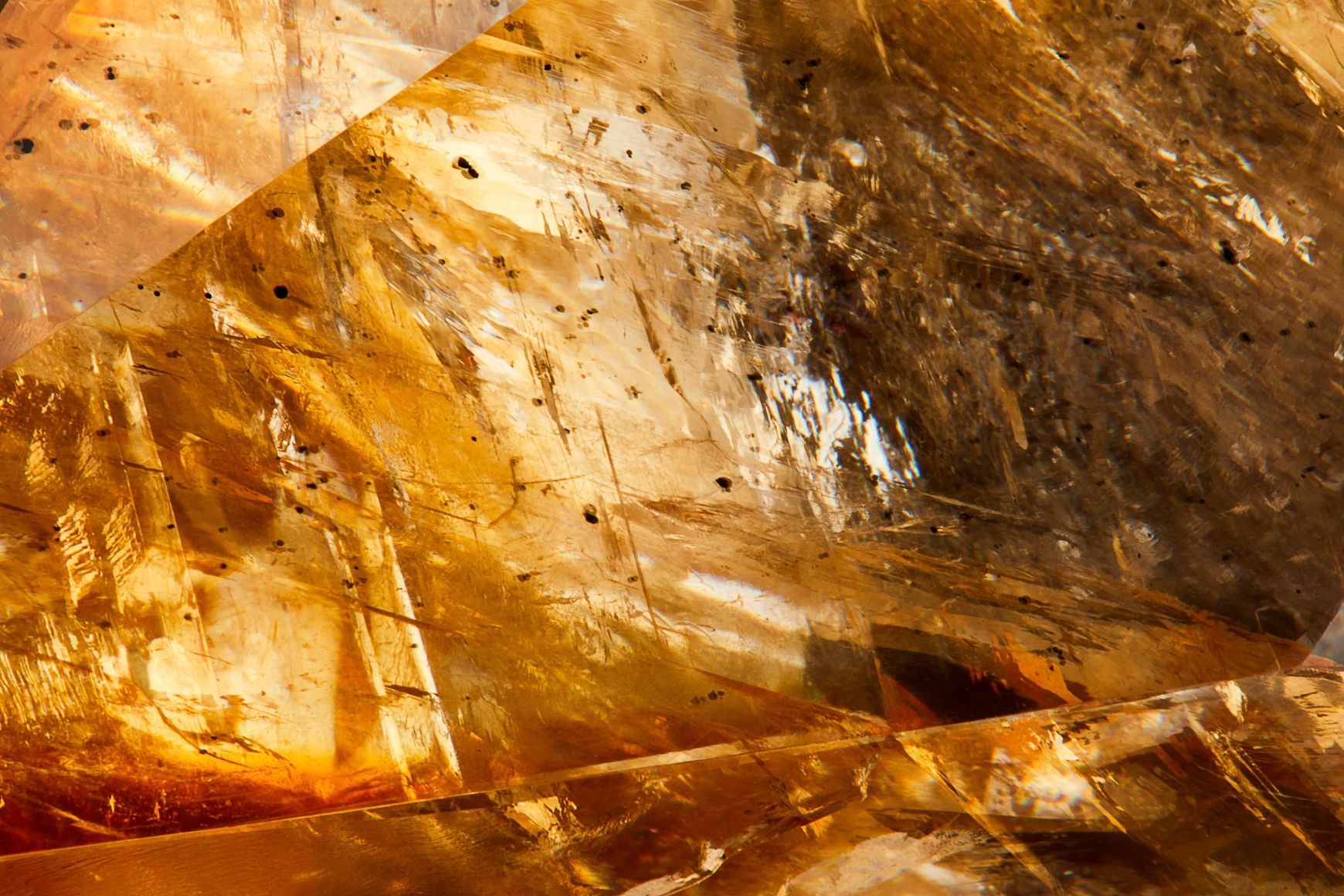 Calcite texture detail