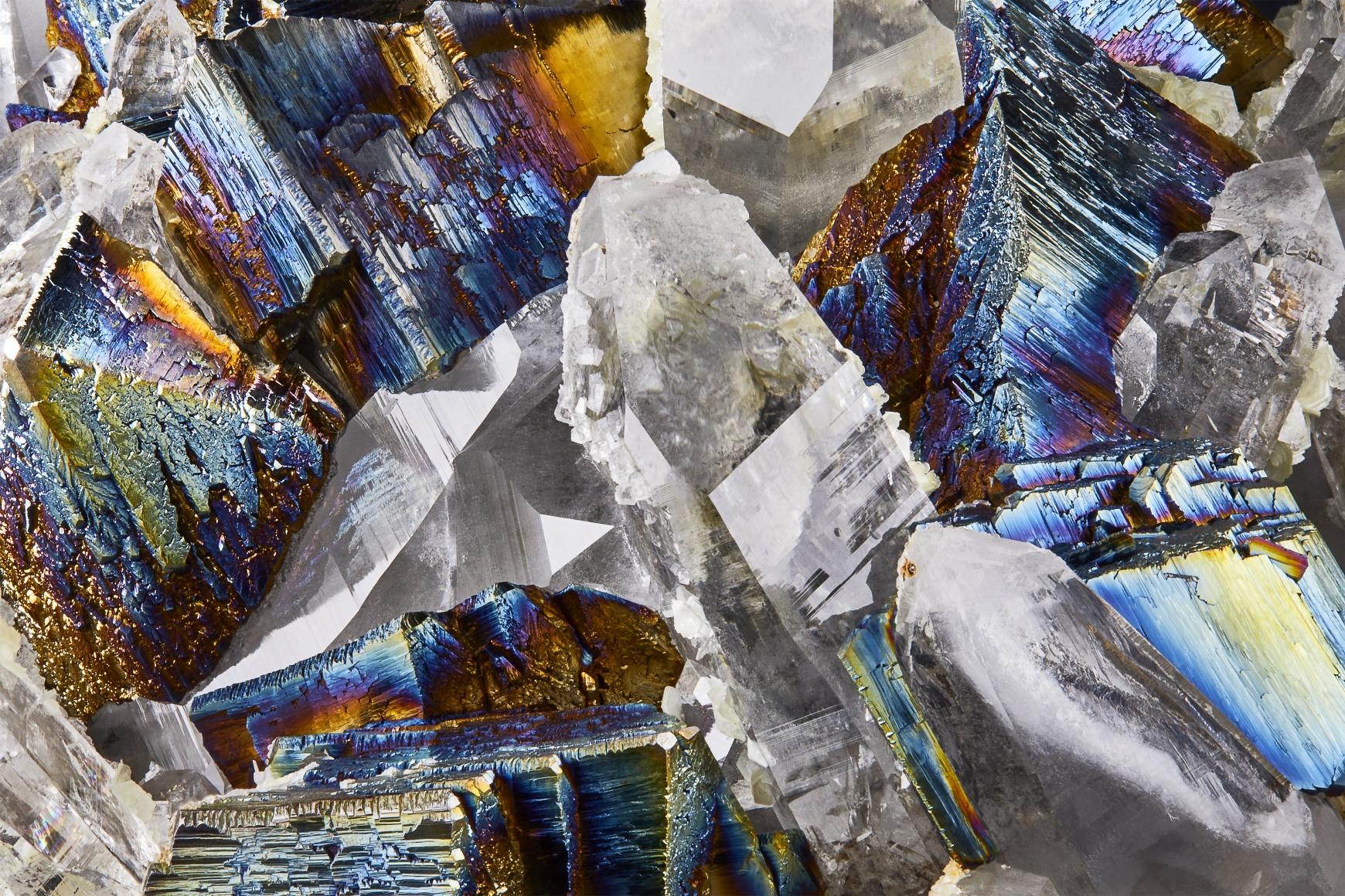 Contrast Exhibition - Arsenopyrite Detail