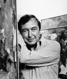 Photograph of Jasper Johns