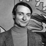 Photograph of Roy Lichtenstein