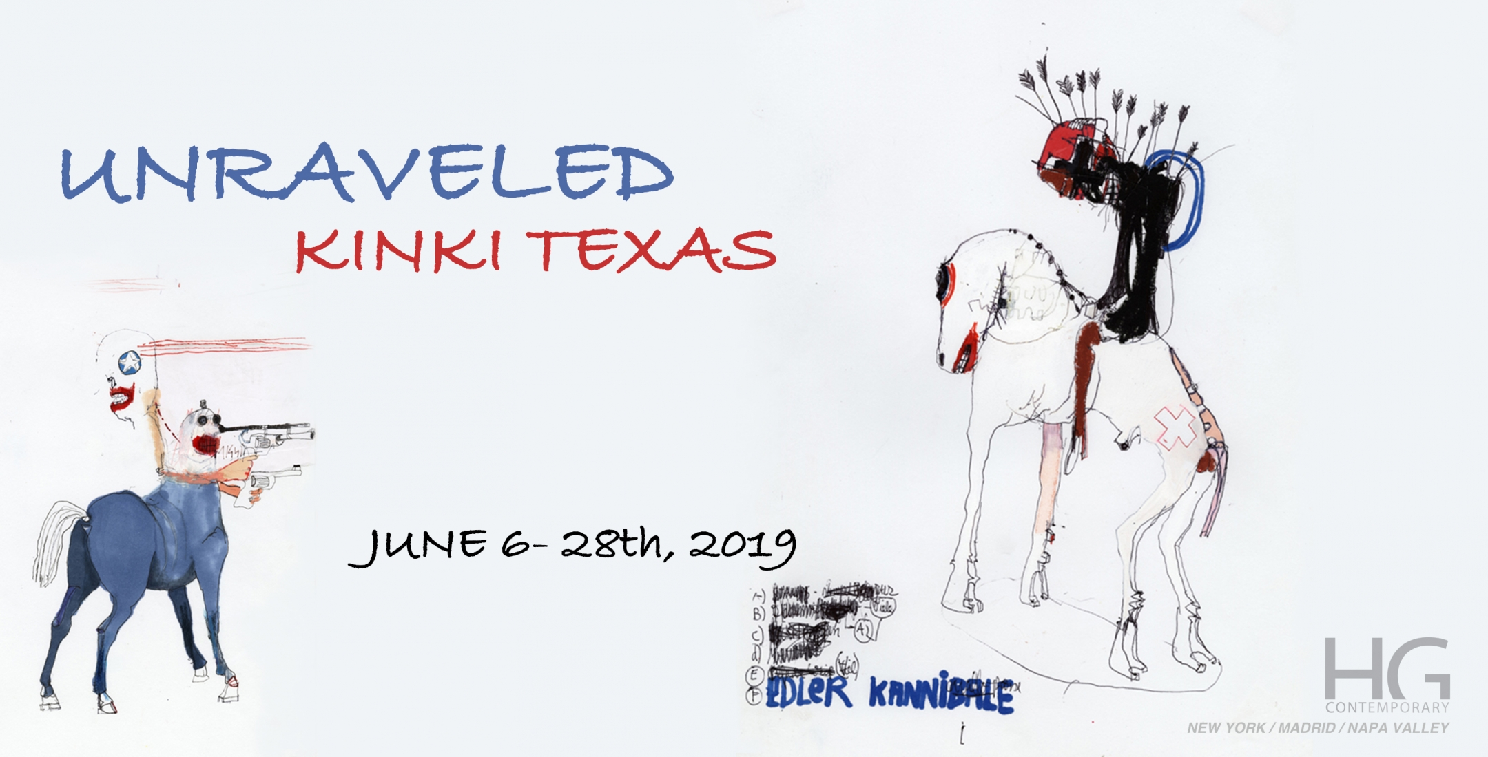 Invite to Unraveled by Kinky Texas