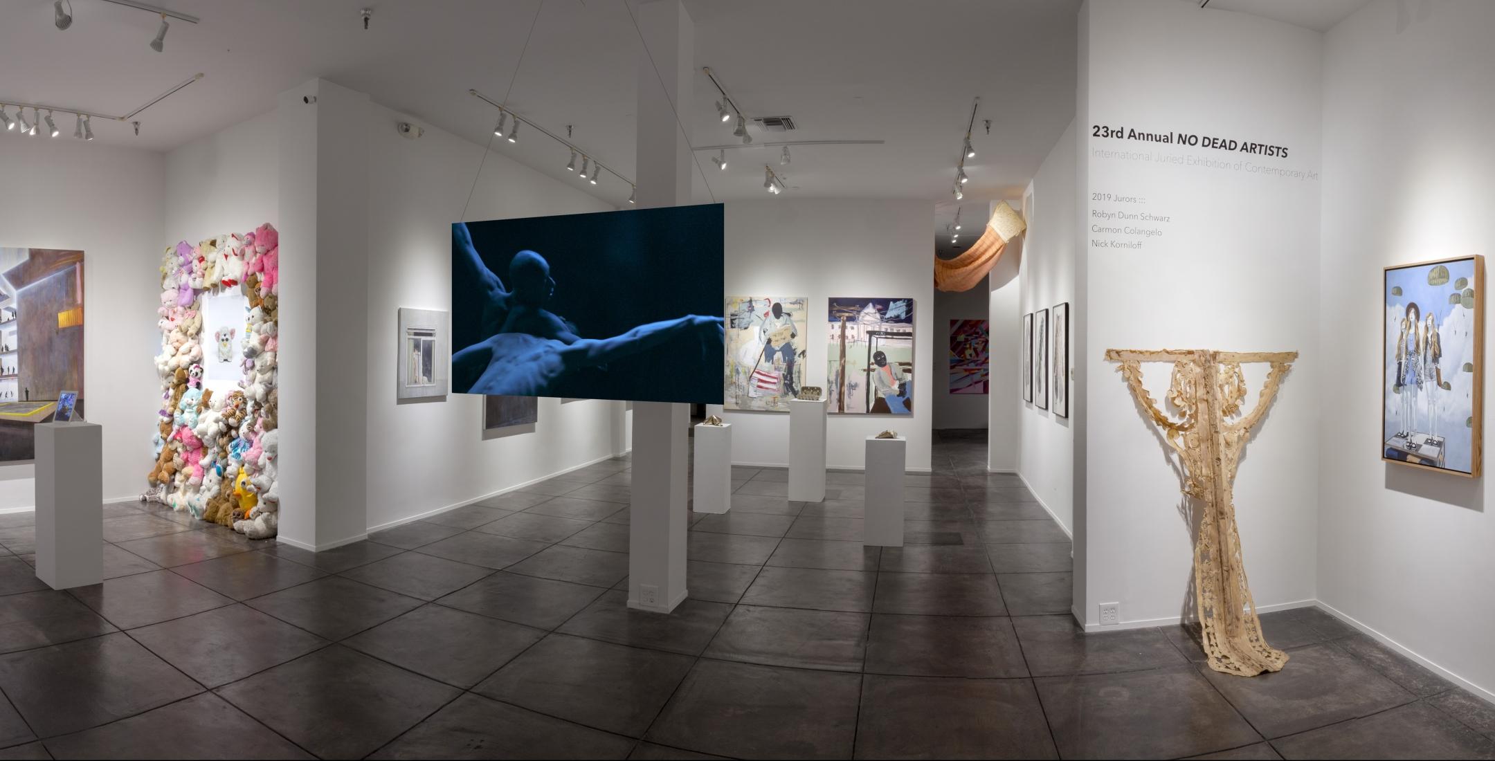 23RD ANNUAL NO DEAD ARTISTS - Exhibitions - JONATHAN FERRARA