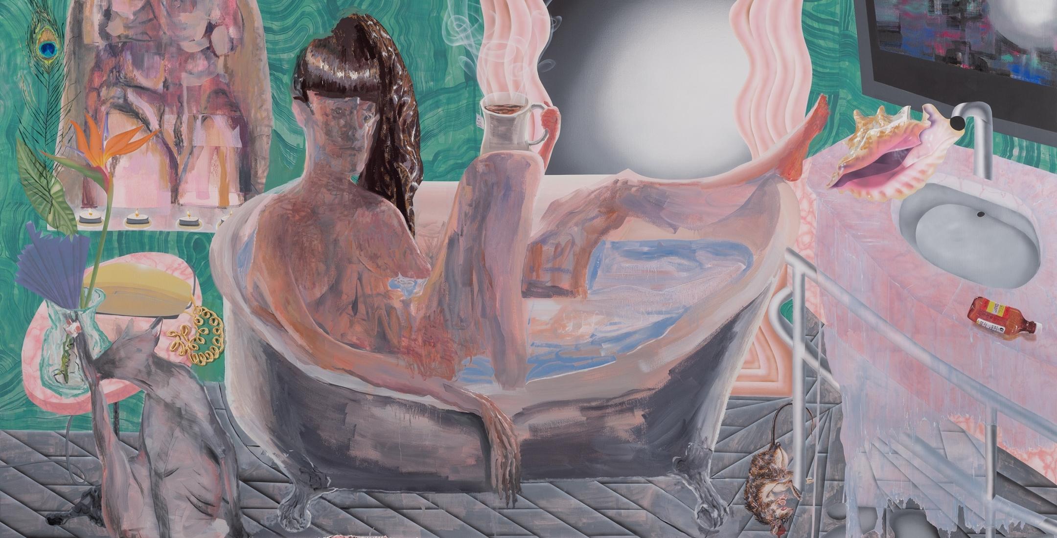 Elizabeth Malaska | Of Myth or of Monday | New Paintings | Russo Lee Gallery | November 2019