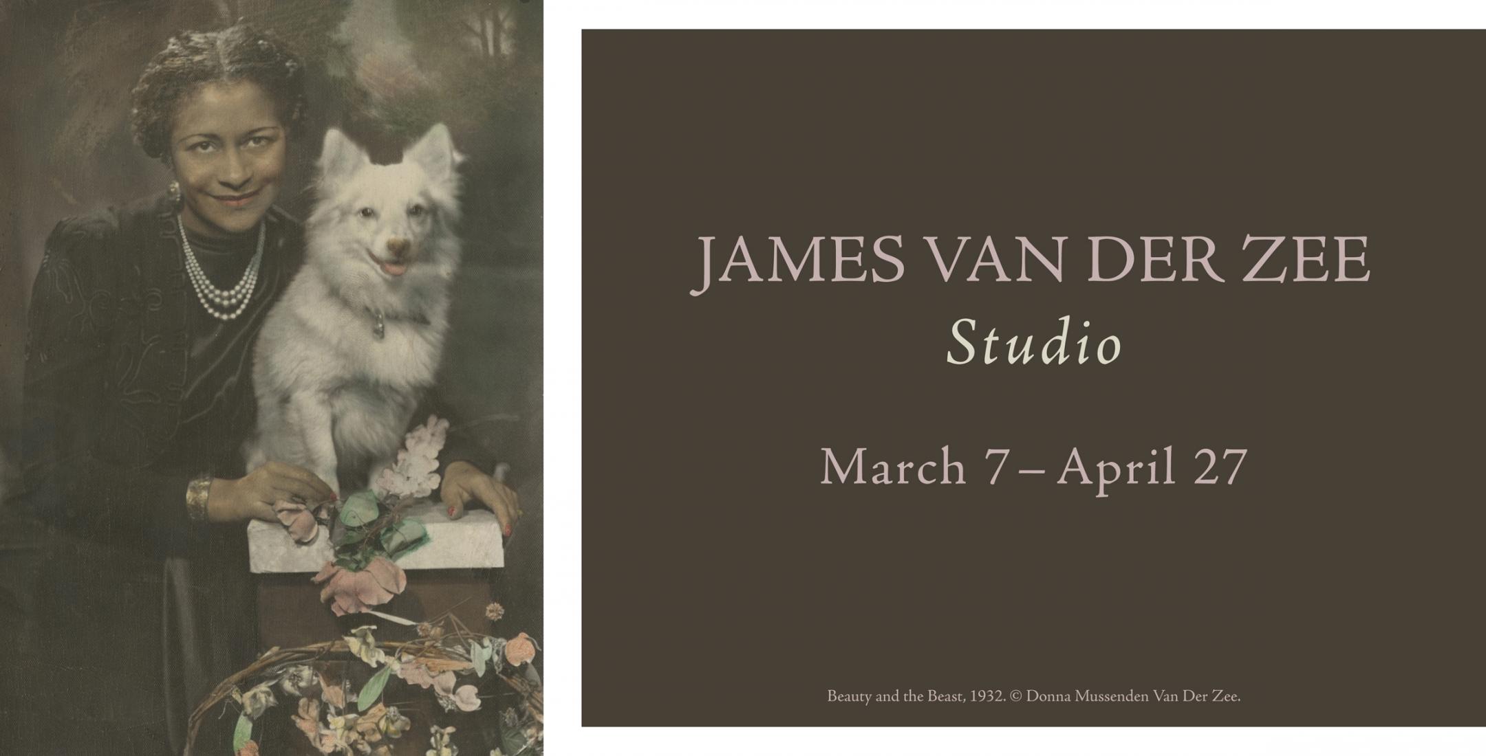 James van Der Zee: Studio, March 7 - April 27