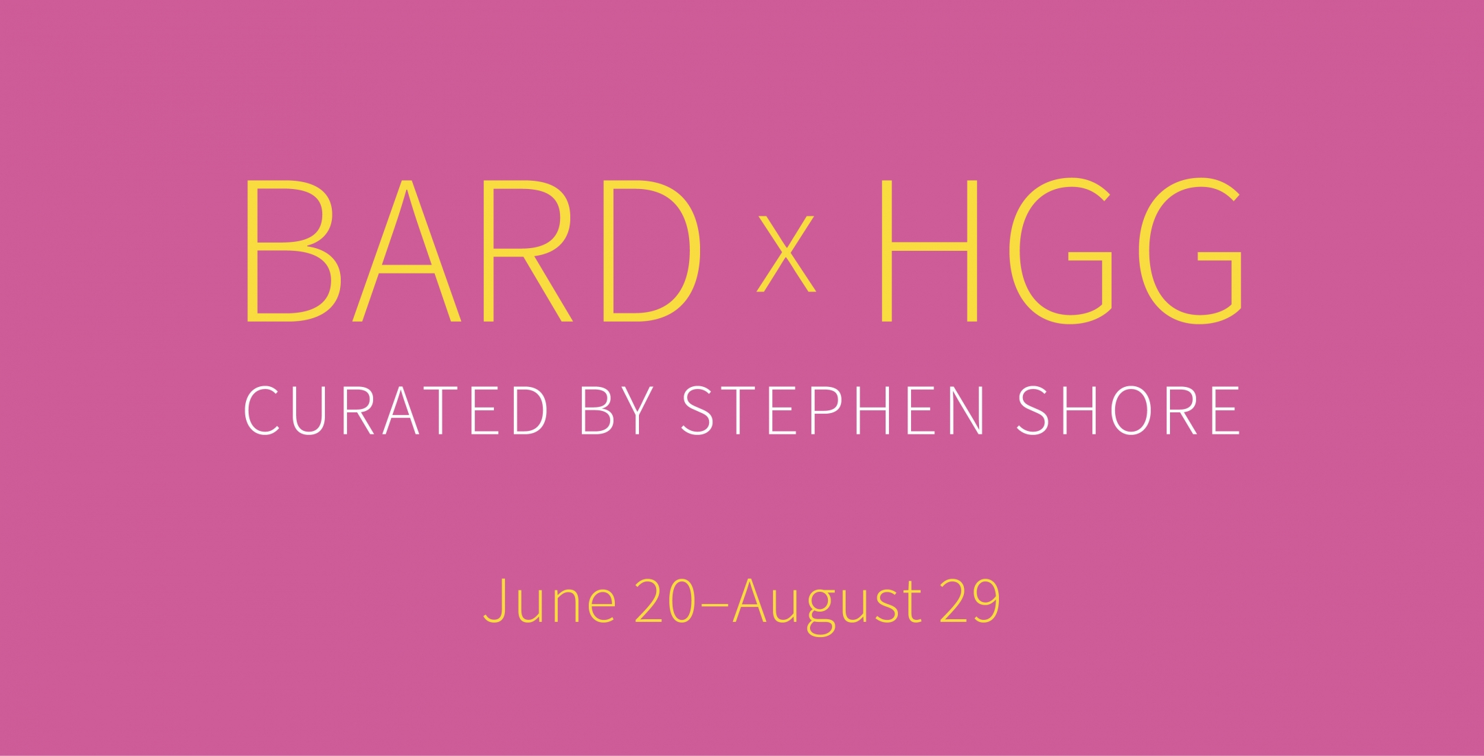 Bard, Howard Greenberg Gallery, Stephen Shore, 2019