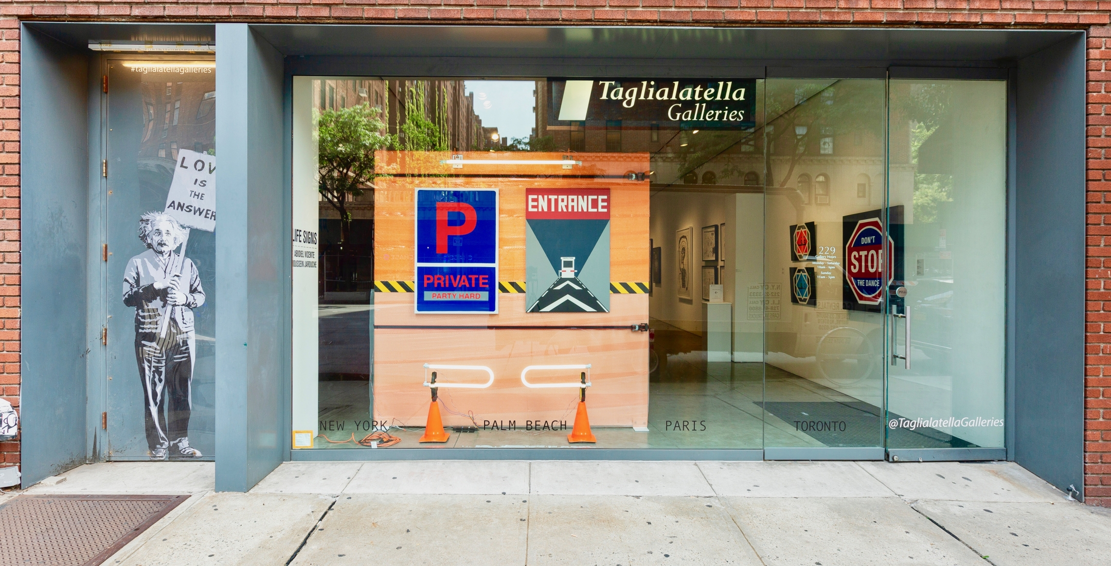 TAGLIALATELLA GALLERIES, New York
