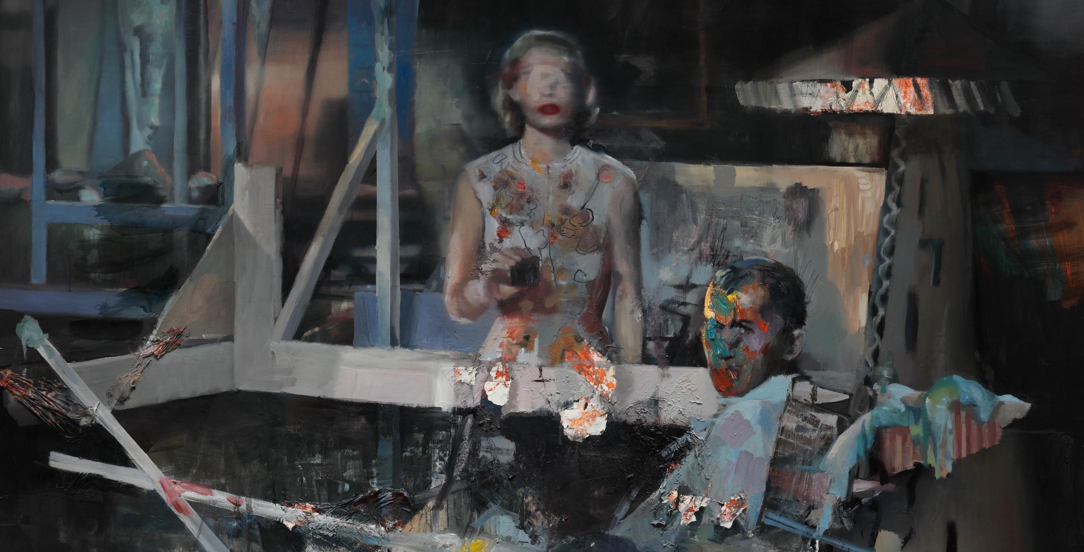 Daniel Pitín – A Race of Peeping Toms