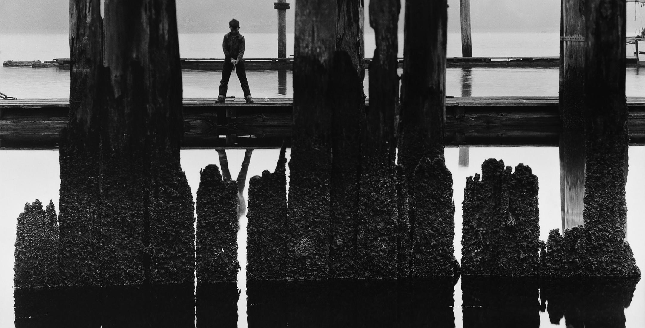 WYNN BULLOCK Boy Fishing 1959