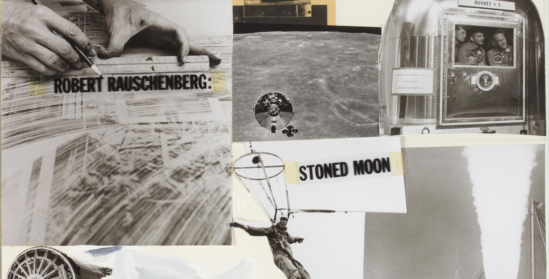 Robert Rauschenberg: Stoned Moon 1969-70