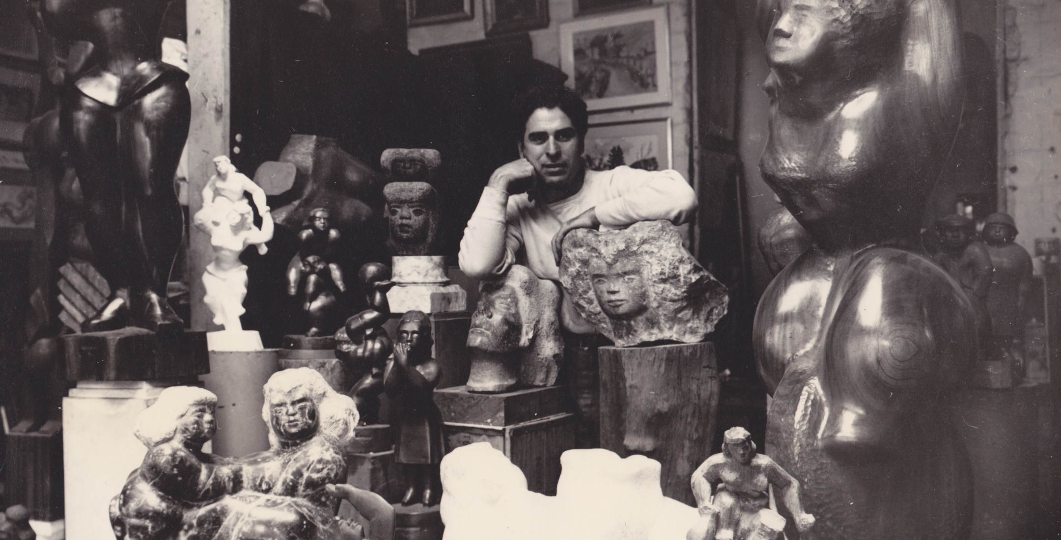 The award-winning HIstoric Home, studio and art collections of sculptor Chaim Gross in the heart of Greenwich Village