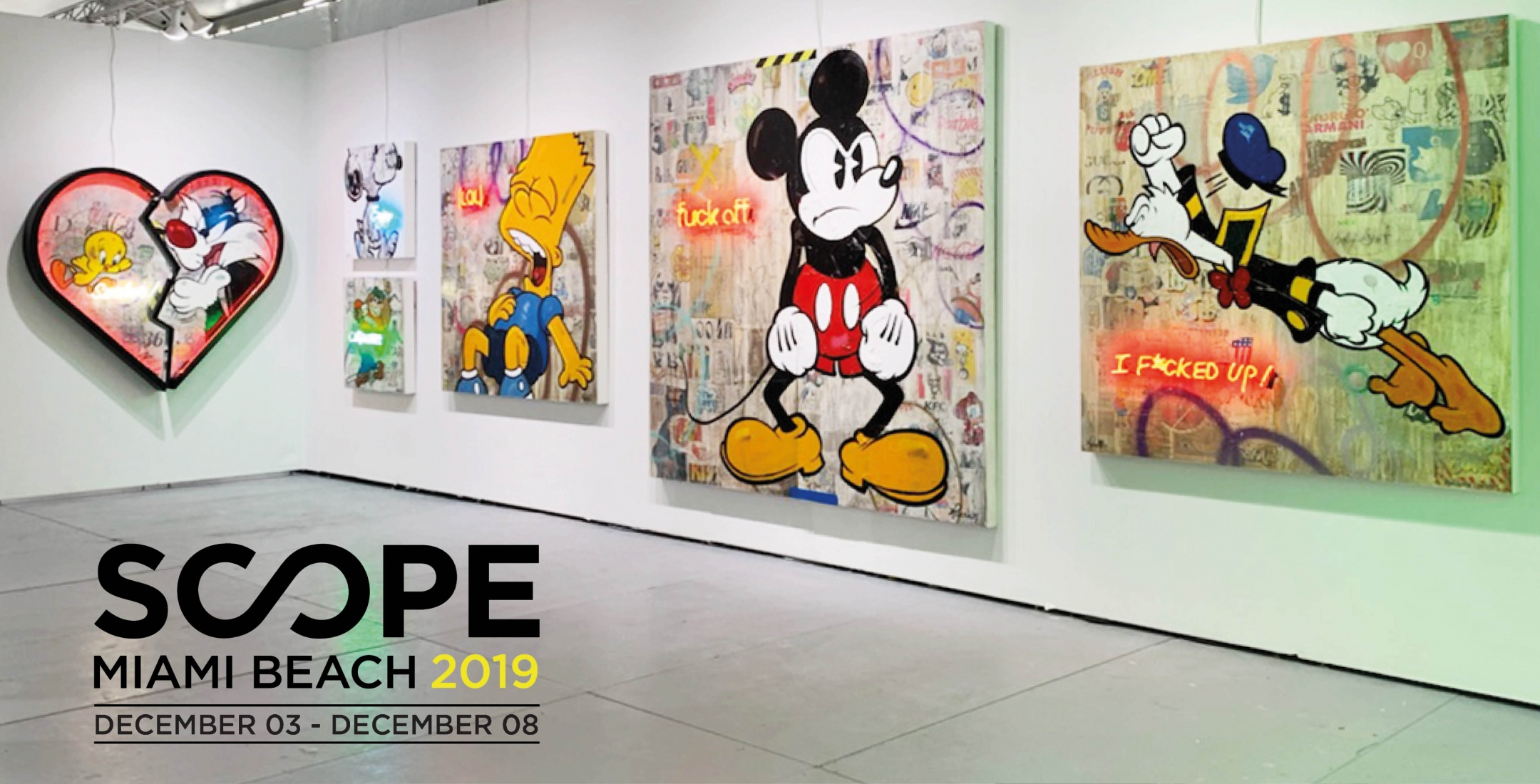 Rock Therrien | Scope Miami | Booth A17