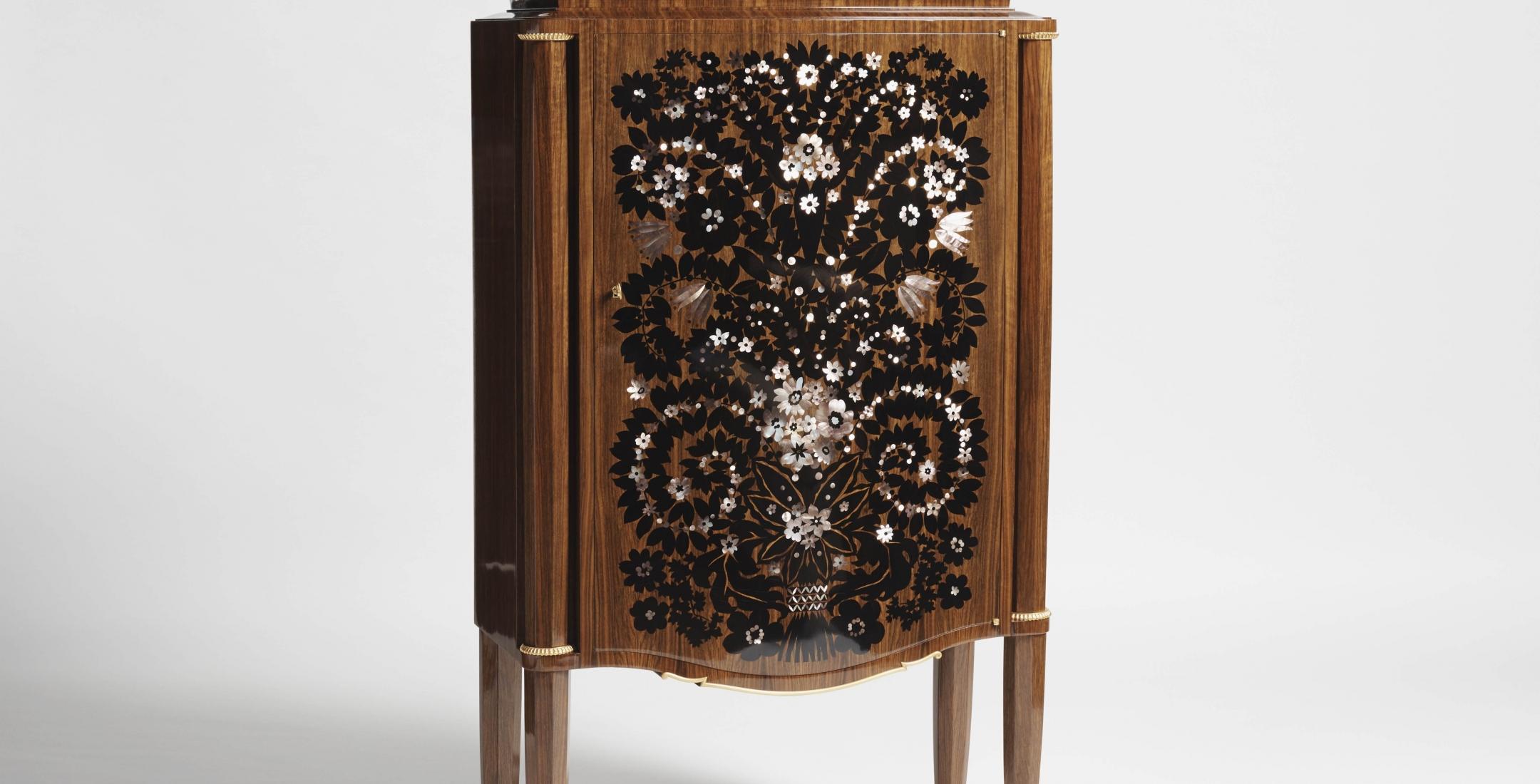 Jules Leleu, Fireworks Cabinet, France, 1946