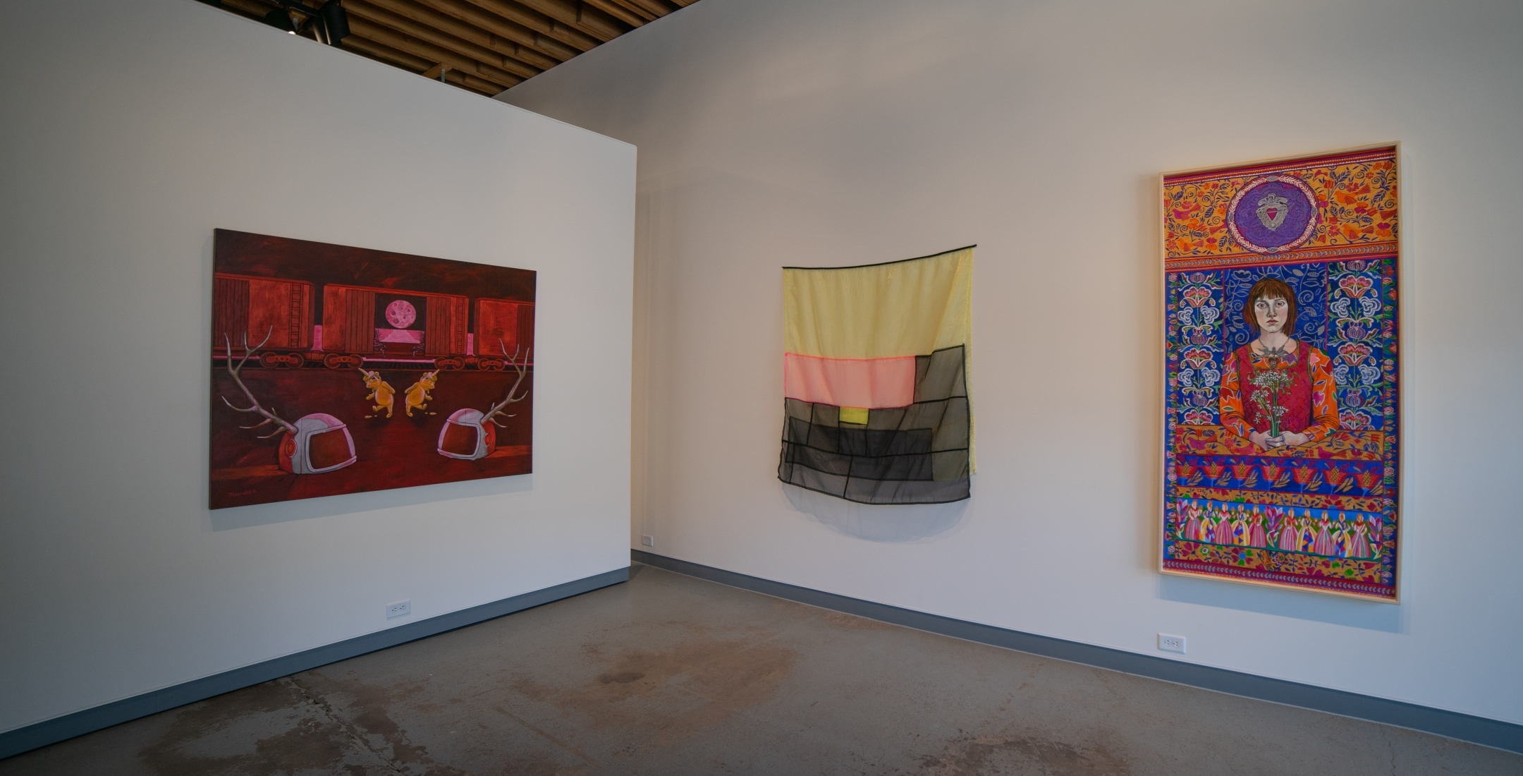 Sweep - a survey of contemporary painting