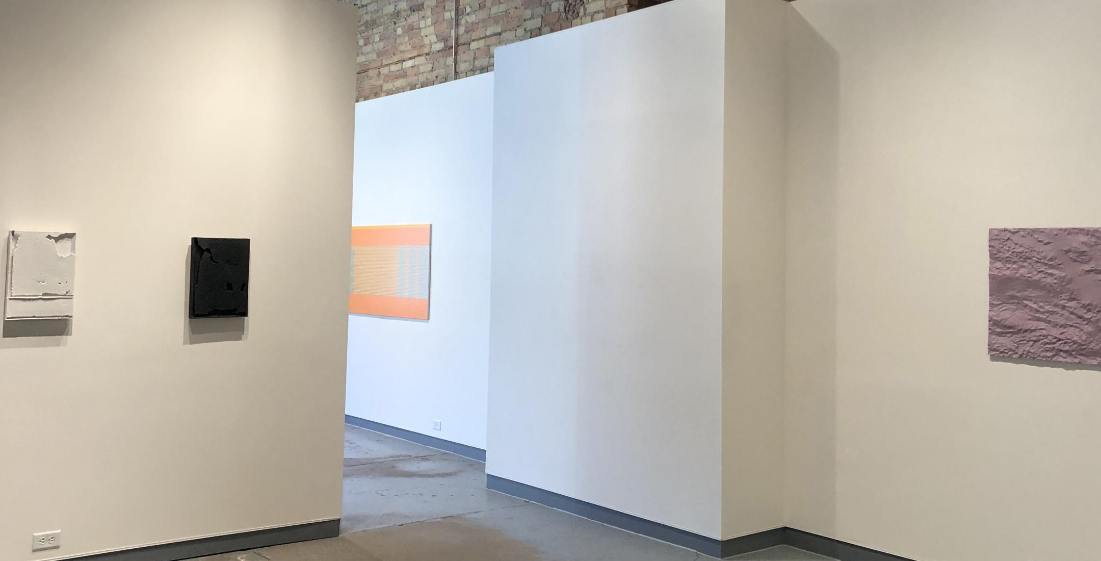 A Warm Reset - installation view (Cary Esser, Matthew Kluber, David Bowen)