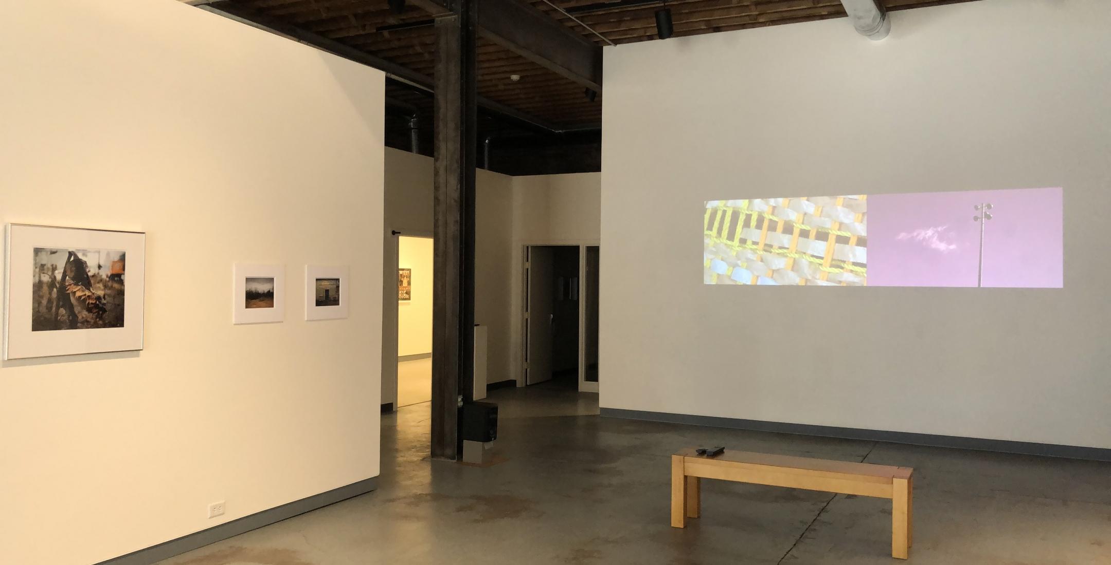 A Warm Reset v.1 - installation view (Tim White, Allen Killian-Moore)