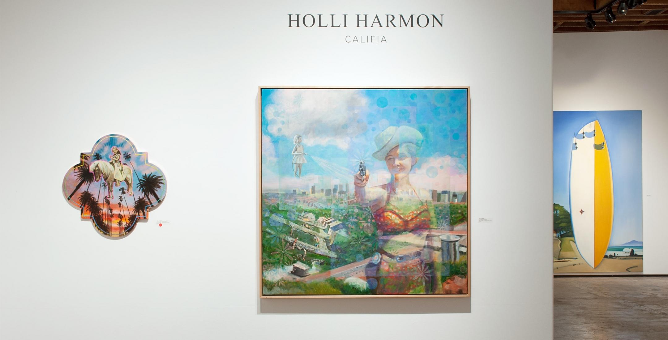 Installation photograph of HOLLI HARMON: Califia