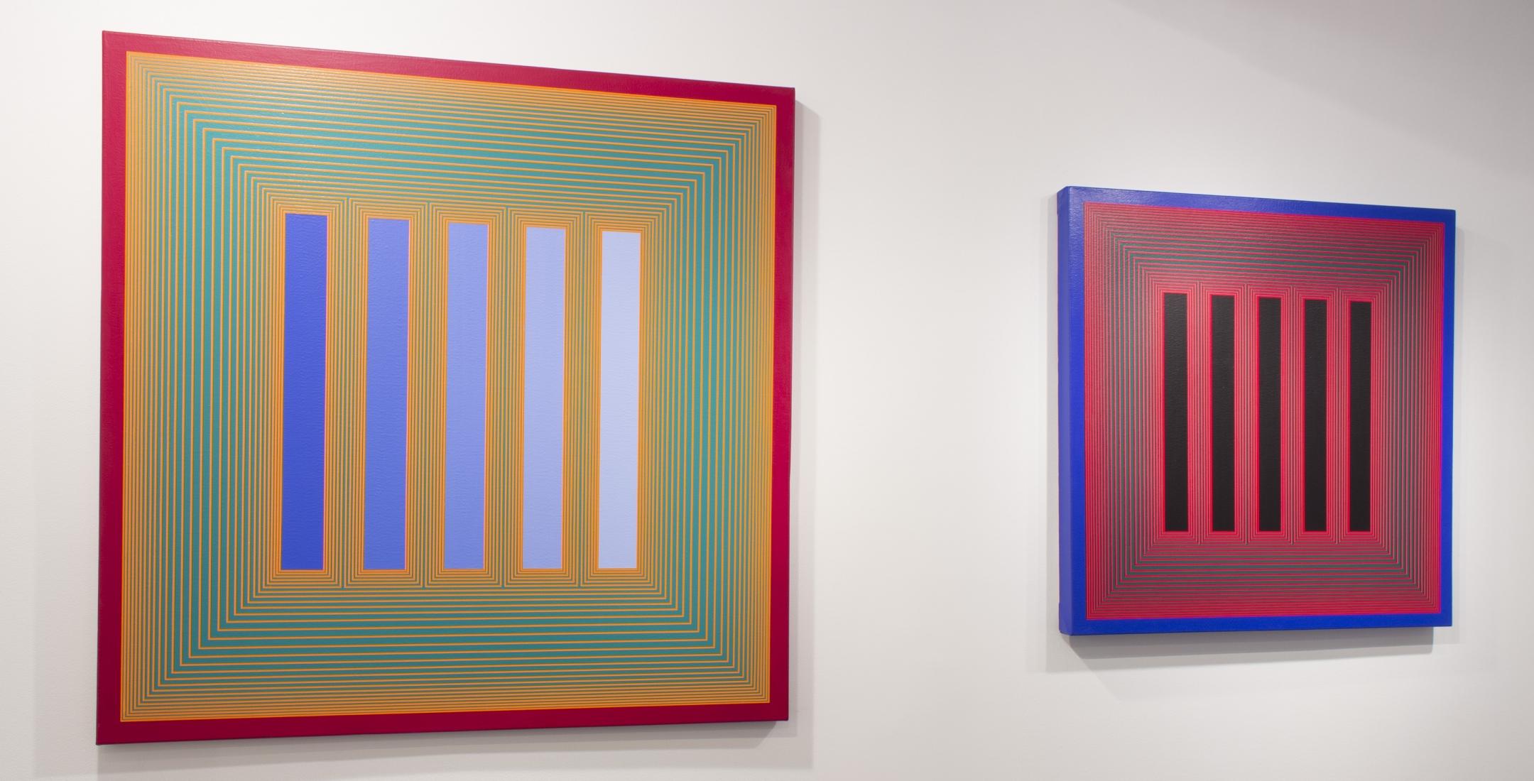 richard anuszkiewicz, 60s painting, op art
