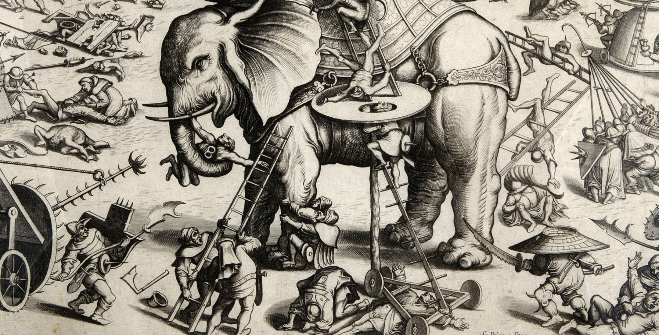 Bosch, Hieronymus, The Siege of the Elephant