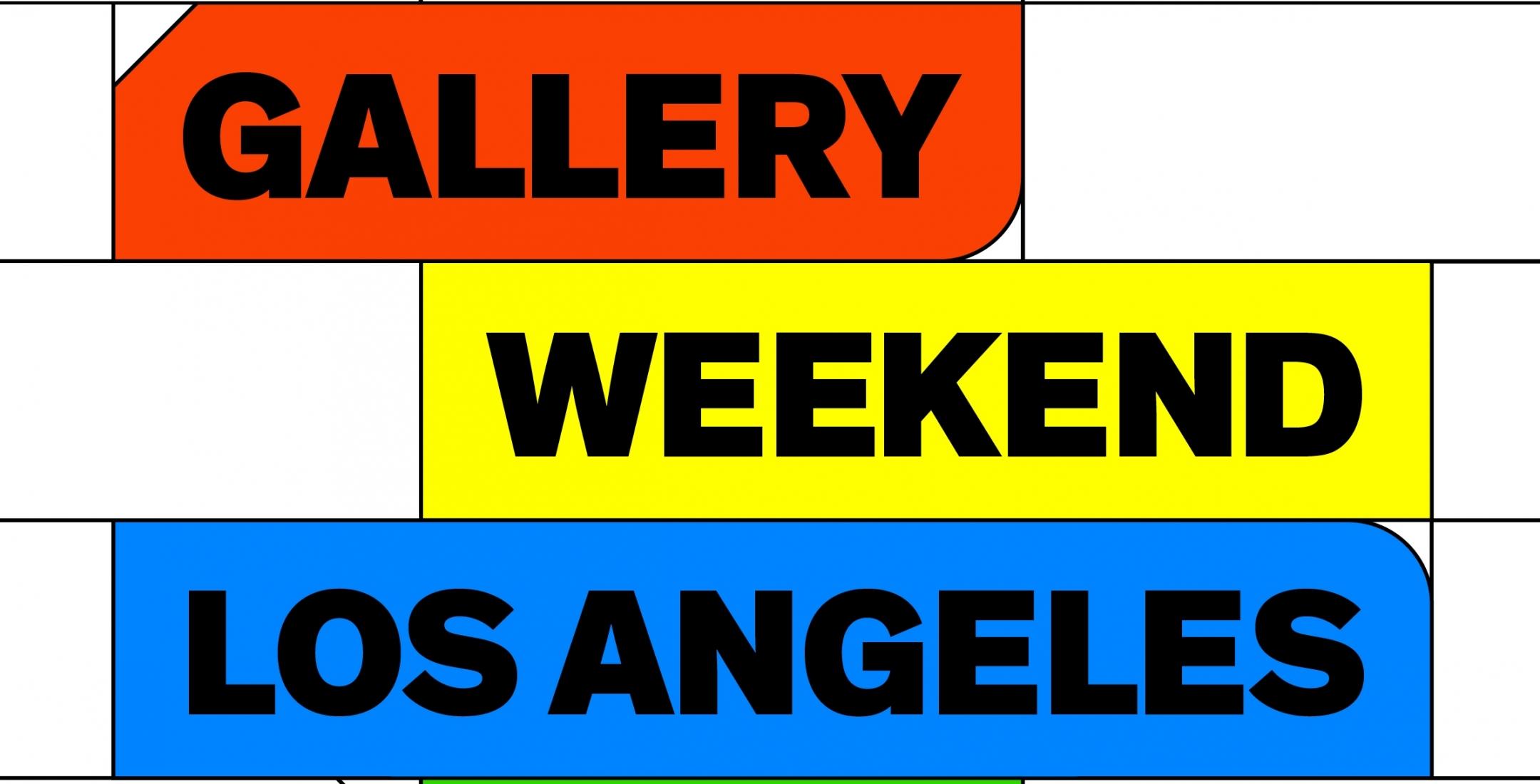 Gallery Weekend Los Angeles