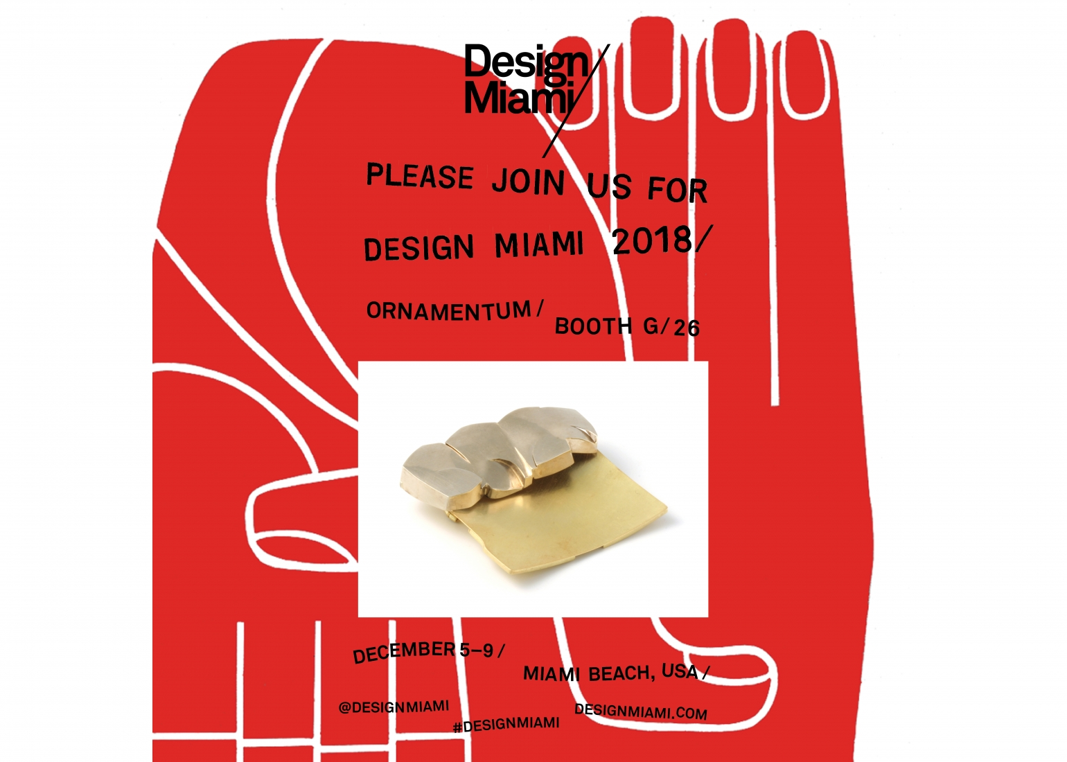 Click image to view selected works exhibited at Design Miami