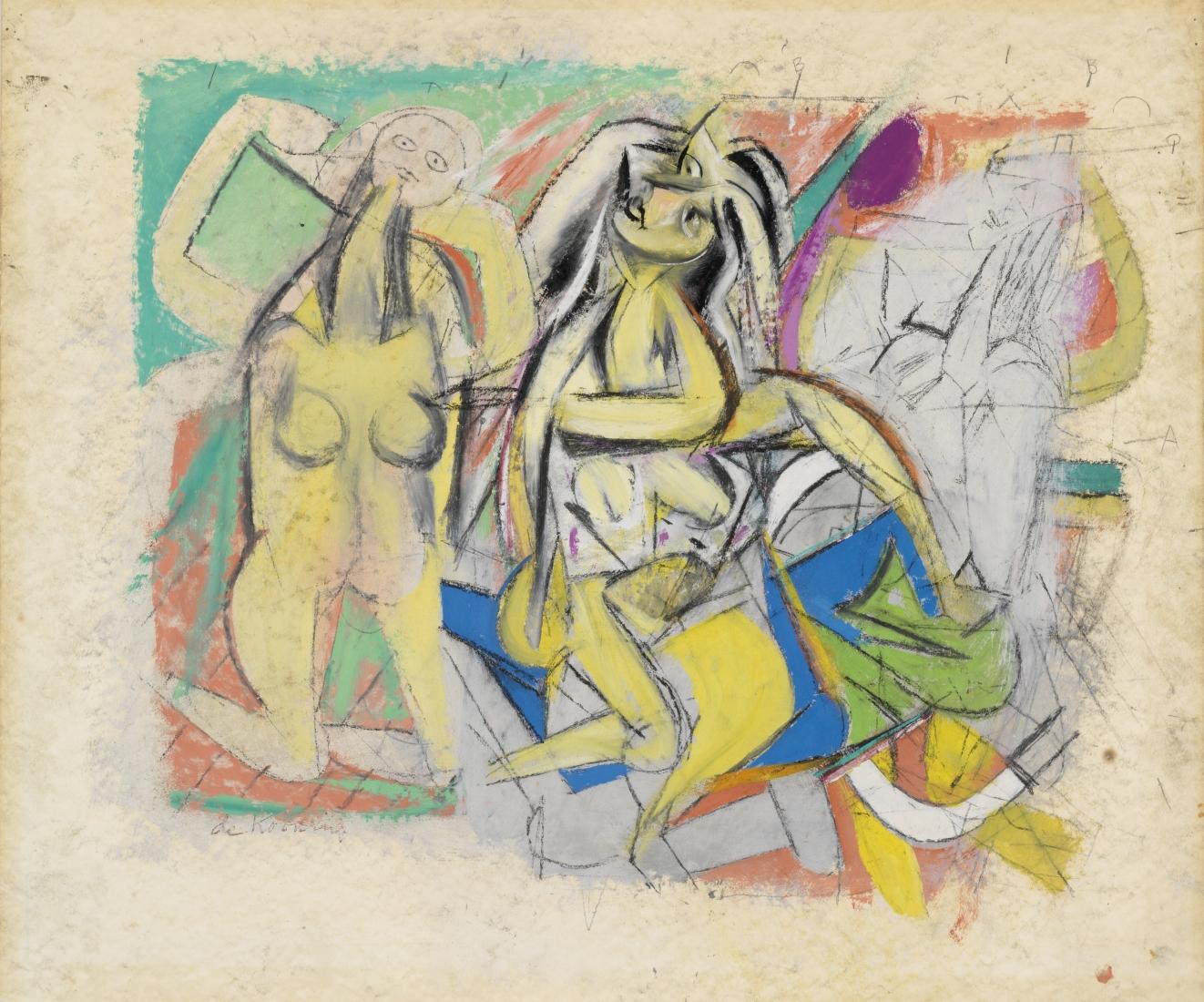 Willem de Kooning: Men and Women: 1938-48