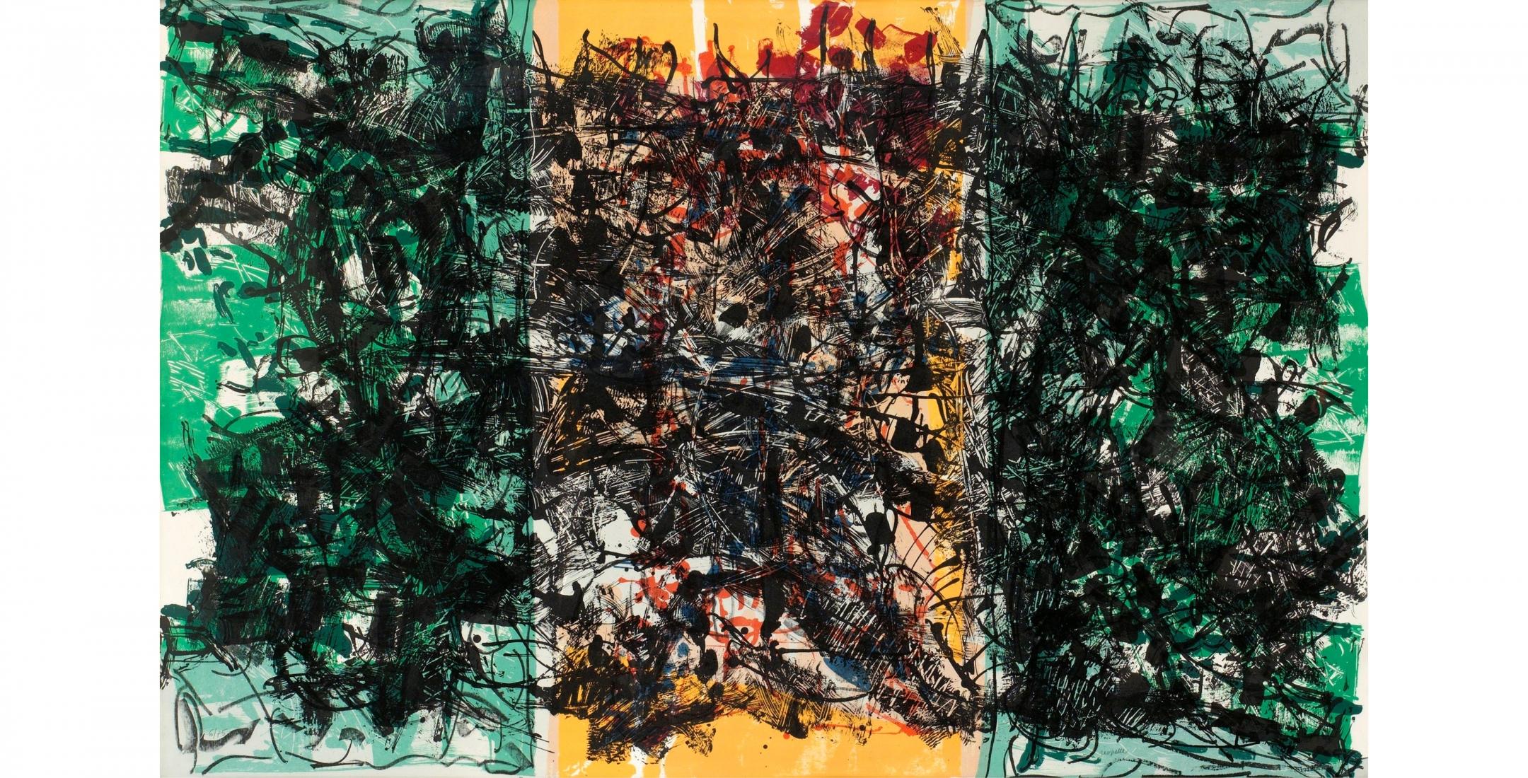 Jean-Paul Riopelle | Galerie LeRoyer