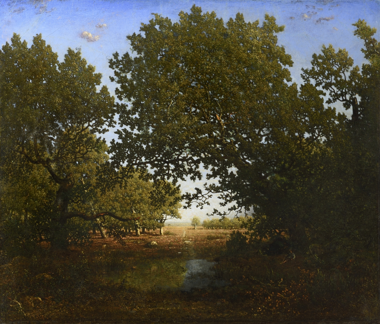 Theodore Rousseau at Schiller & Bodo European Paintings