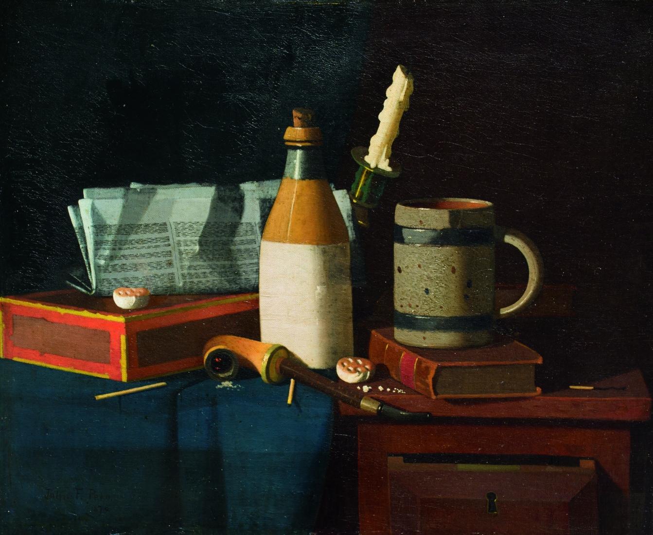 John Frederick Peto at A. J. Kollar Fine Paintings, LLC