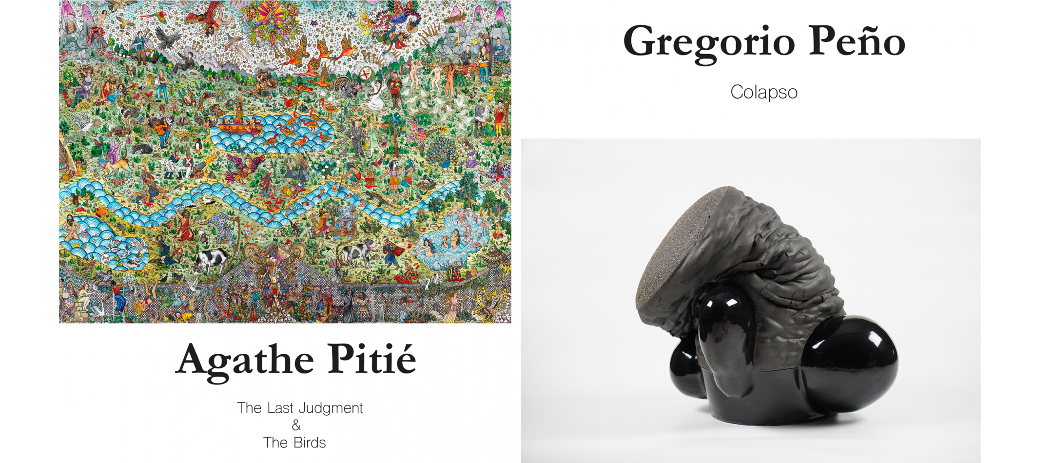 Agathe Pitié & Gregorio Peño