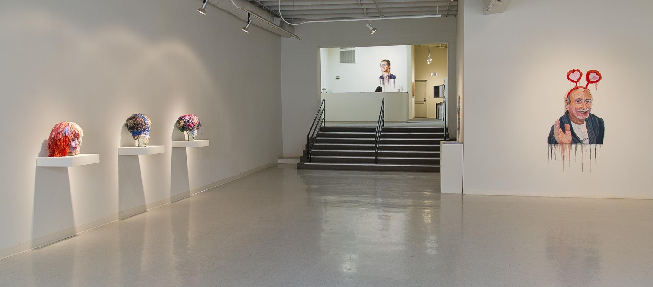 Jo Hamilton installation at Laura Russo Gallery