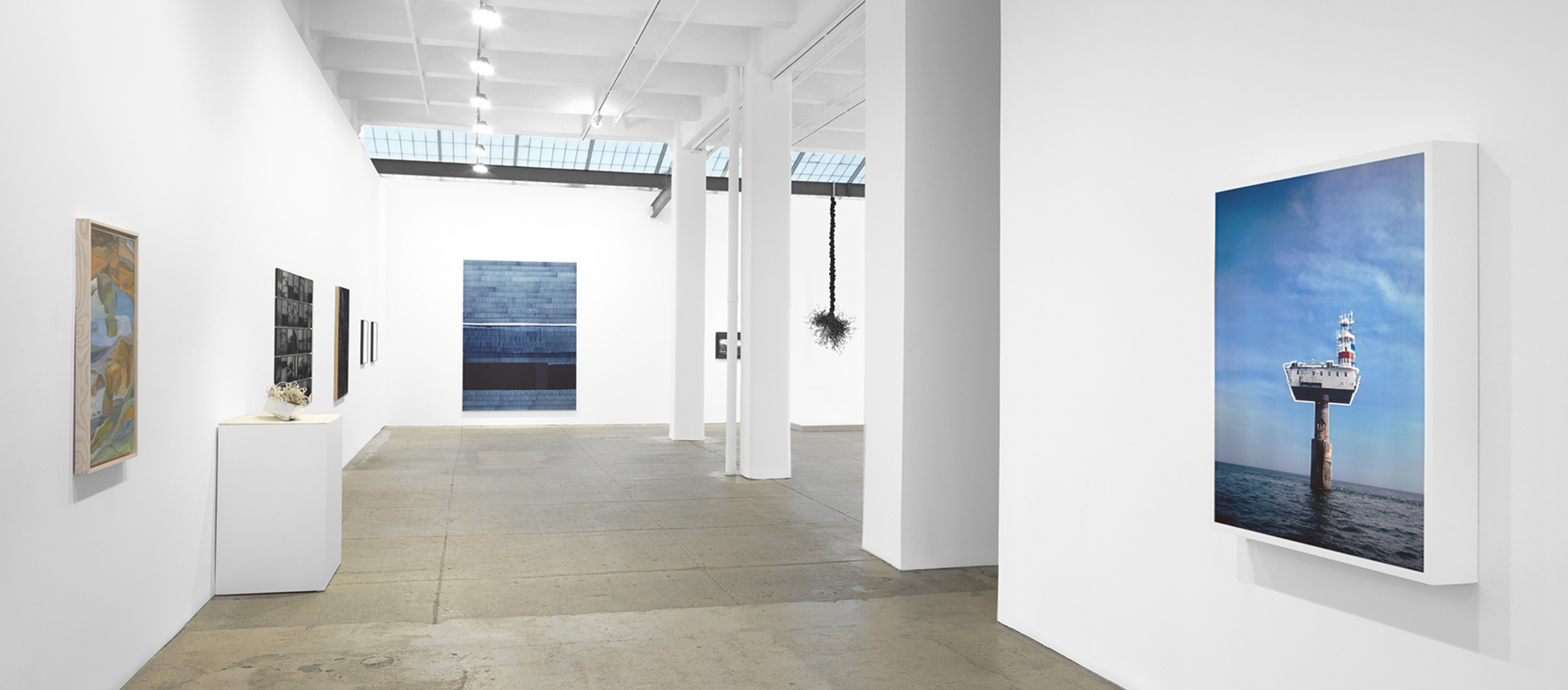 Installation view at Galerie Lelong in New York