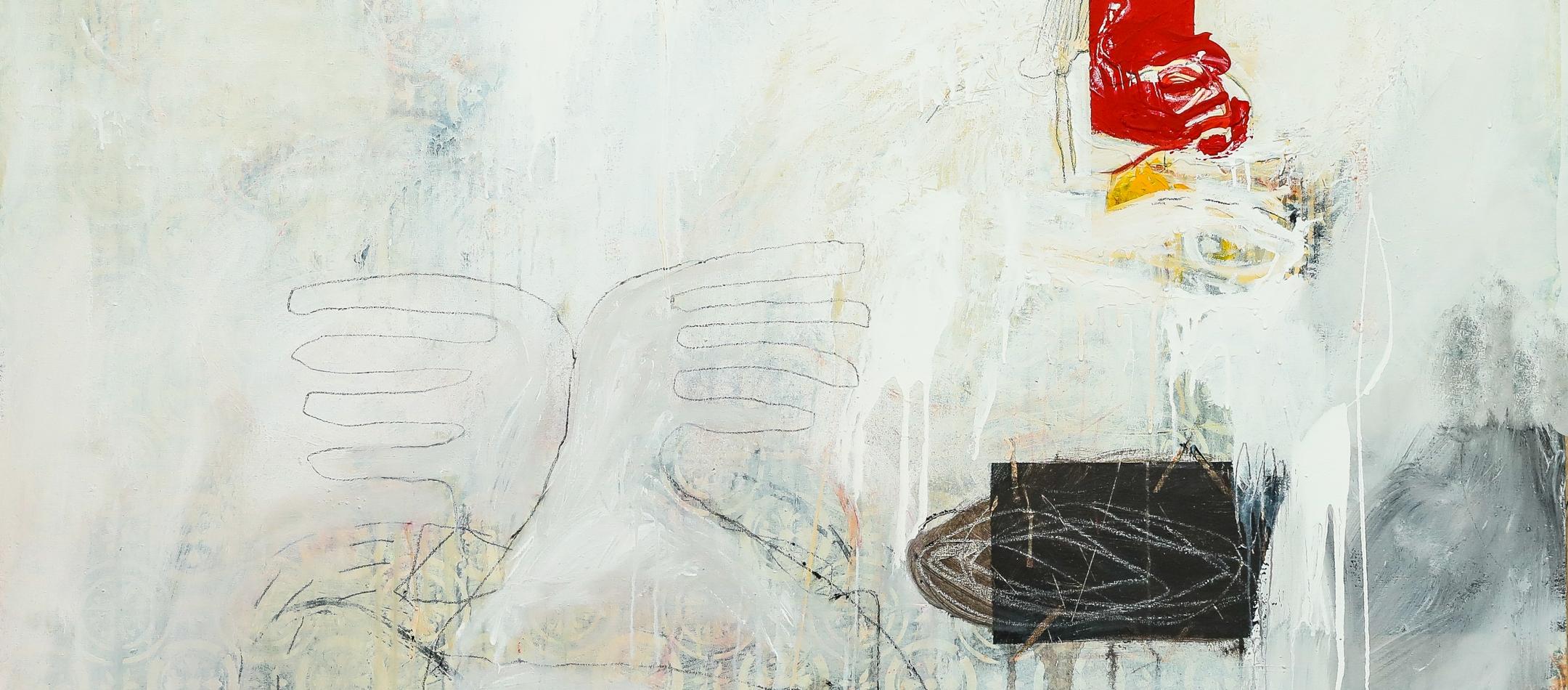 Dry Tears (2019), Acrylic on canvas, 48 x 60