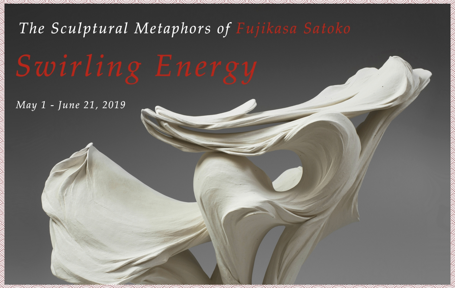 Swirling Energy: The Sculptural Metaphors of Fujikasa Satoko