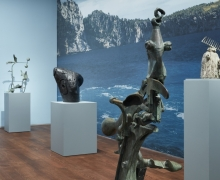 Installation of Miro the Sculptor: Elements of Nature