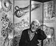 Photograph of Marc Chagall