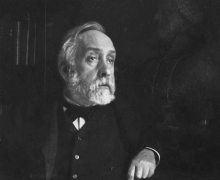 Photograph of Edgar Degas