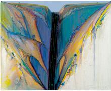 Wayne Thiebaud, Road Through, 1983