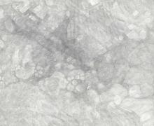 Detail of Jacob El Hanani, Without Form and Void (Tohu Wa-bohu), 2019