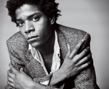 Photograph of Jean-Michel Basquiat