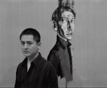 Photograph of Zeng Fanzhi