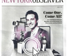 New York Observer Cover