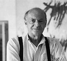 Photograph of Cy Twombly