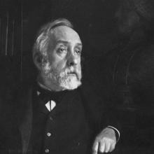 Photograph of Edgar Degas