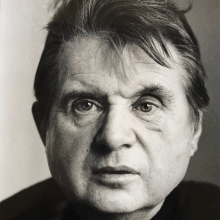 Photograph of Francis Bacon