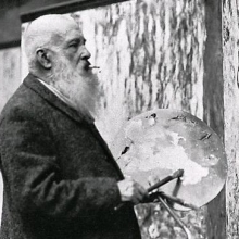 Photograph of Claude Monet
