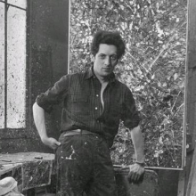 Photograph of Jean Paul Riopelle