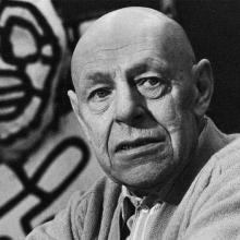 Photograph of Jean Dubuffet